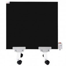 Підлоговий керамічний двосторонній обігрівач LIFEX Slim 400 чорний
