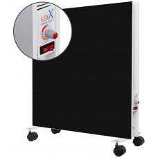 Підлоговий керамічний обігрівач LIFEX D.Floor 800 R чорний з терморегулятором