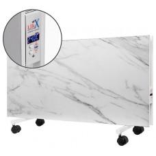 Підлоговий керамічний обігрівач LIFEX D.Floor 1000 білий мармур з програматором
