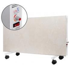 Підлоговий керамічний обігрівач LIFEX D.Floor 1000 R бежевий мармур з терморегулятором