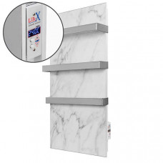 Керамічна рушникосушка LIFEX W.Towel 500 білий мармур