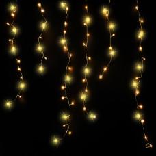 LED гірлянда Luca бахрома 6,5 м (біле тепле світло)