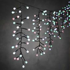 LED гірлянда Luca бахрома 9,2 м (мультикольорове світло)