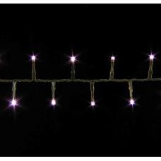 LED гірлянда Luca 13,4 м (бузкове світло)