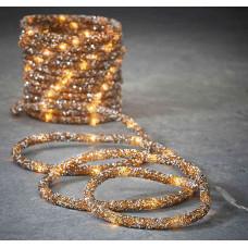 LED гірлянда Luca 8 м мотузка (біле тепле світло)