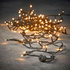 LED гірлянда змійка Luca 10 м (біле тепле світло) сполучна