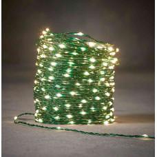 LED гірлянда Luca 33 м зелена струна (біле холодне світло)