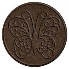 """Декор для садових доріжок Multy Home гумовий """"метелик"""" 45 см коричневий"""