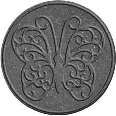 """Декор для садових доріжок Multy Home гумовий """"метелик"""" 45 см сірий"""