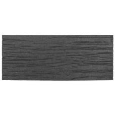 """Декор для садовых дорожек Multy Home резиновый """"шпалы"""" 26х60 см черный"""