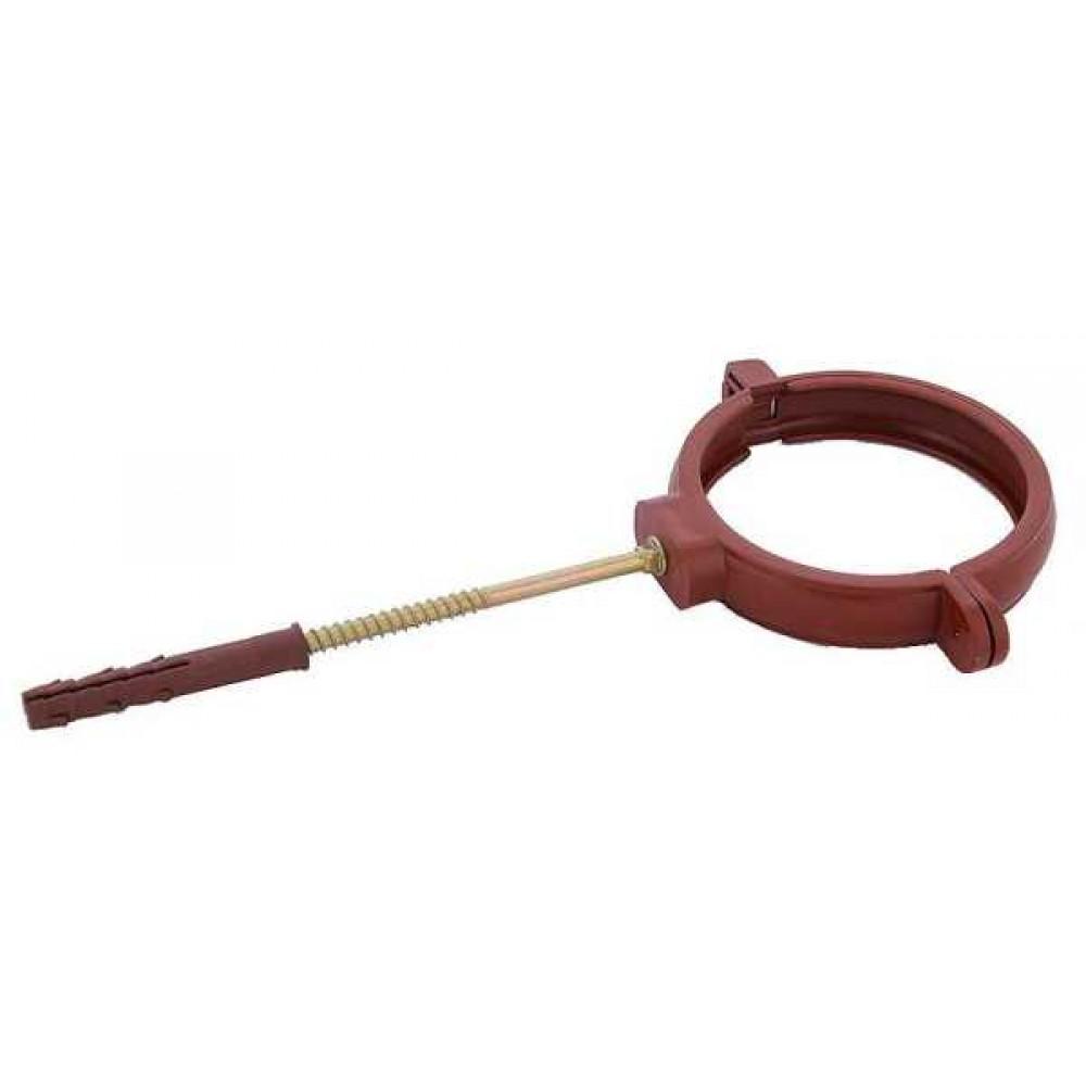 Тримач труби ПВХ з дюбелем Profil Ø100 мм L=160 мм