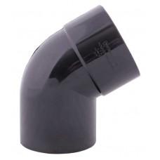 Коліно зливне графітове Profil Ø75 мм 60°