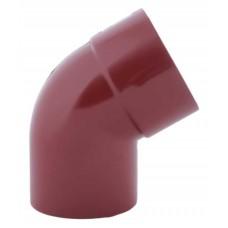 Коліно зливне червоне Profil Ø75 мм 60°