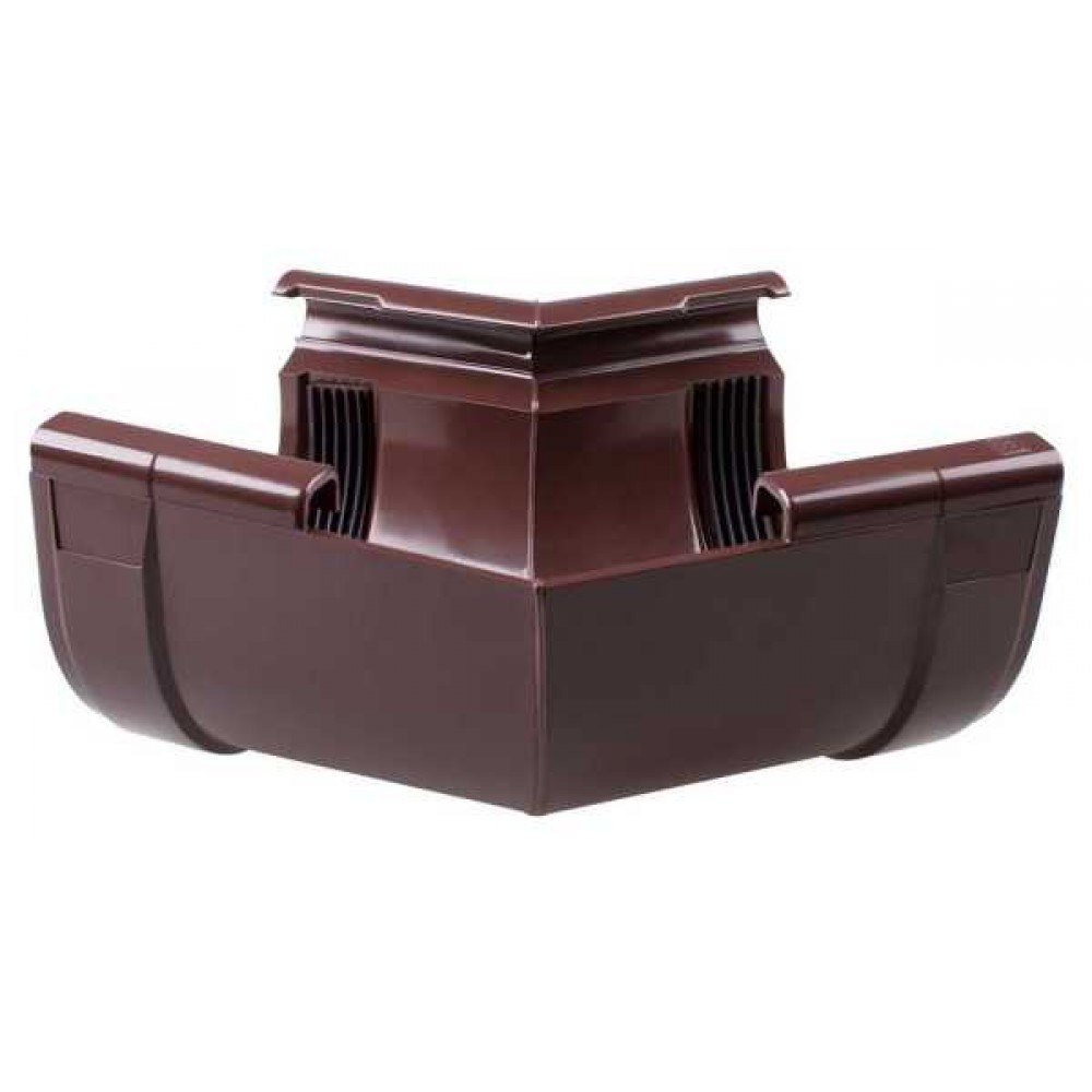 Кут внутрішній коричневий Profil Ø90 мм 135°