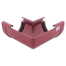 Кут внутрішній Profil Ø130 мм 90° червоний