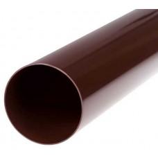 Труба водостічна коричнева Profil Ø100 мм 3м