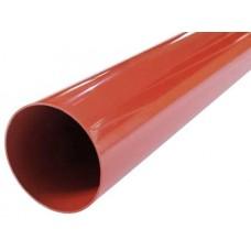 Труба водостічна цегельна Profil Ø100 мм 3м
