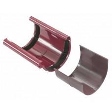З'єднувач ринви червоний Profil Ø130мм