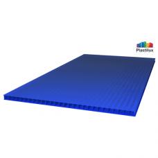 Сотовый поликарбонат Plastilux ULTRAMARIN синий 2100х6000х6мм