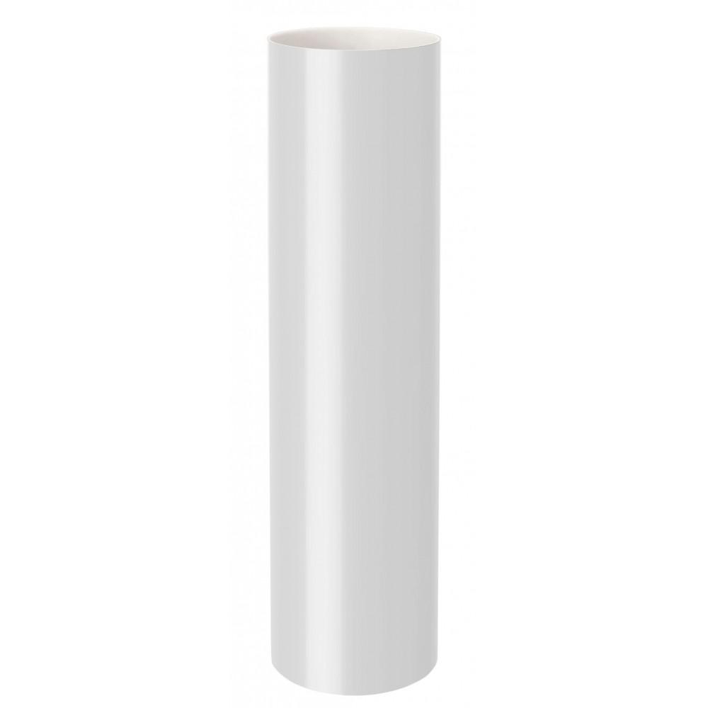 Труба водостічна RainWay 75мм біла