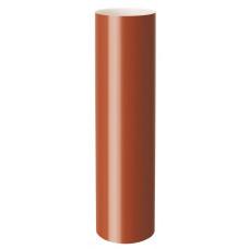 Труба водостічна RainWay 75мм оранжева