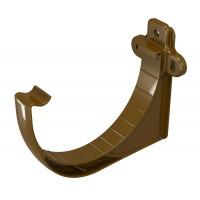 Тримач ринви Regenau 125 мм пластиковий коричневий