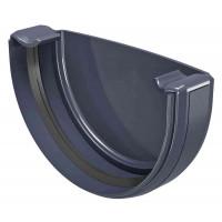Заглушка ринви Regenau 125 мм графіт