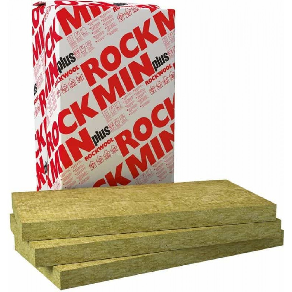 Базальтова вата Rockwool Rockmin Plus 50 (10,98 кв.м)