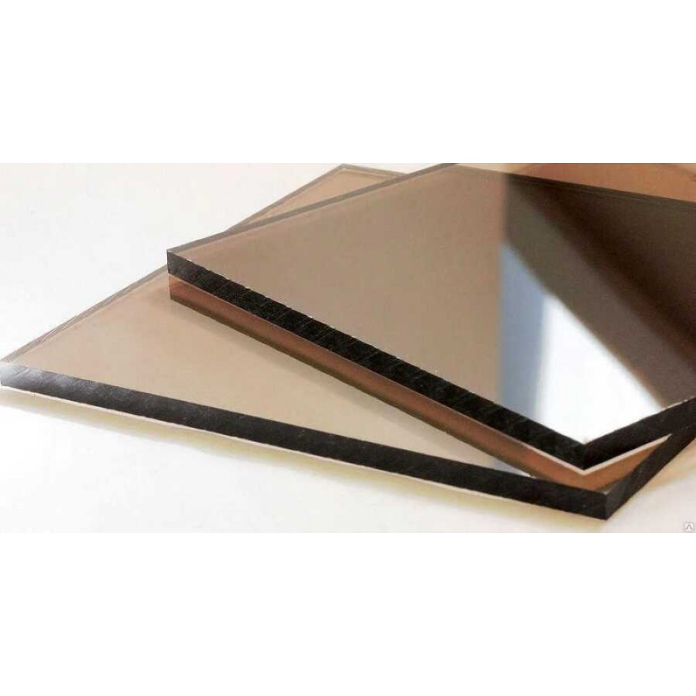 Монолітний полікарбонат бронзовий SOTON SOLID 8мм 2050х6100