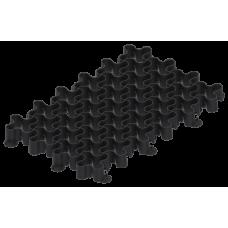 Решетка газонная Standartpark 60х40 см ПП пластиковая черная 8100-М-Ч