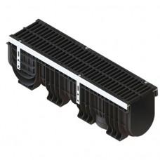 Лоток PolyMax Drive ЛВ-20.26.30-ПП з решіткою щілинною чавунною кл.D (комплект)