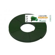 Садовый бордюр Standartpark «Кантри» Б-8000.2.11-ПП 80м пластиковый зеленый