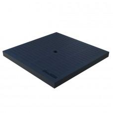 Кришка до дощоприймача PolyMax Basic К-28.28-ПП пластикова чорна 3389-Ч