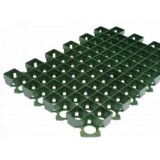 Решетка газонная Standartpark 60х40 см пластиковая зеленая 8101-З