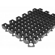 Решетка газонная Standartpark 60х40 см пластиковая черная 8101-Ч