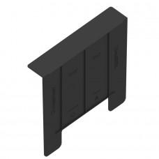 Перегородка-сифон для дощоприймача 30.30 Standartpark пластикова чорна 8378-UA