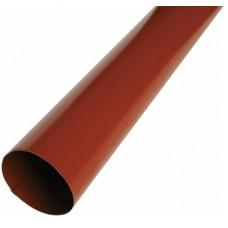 Труба водостічна STREAM 90 мм 1 м