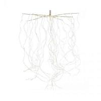 LED гірлянда Luca звисаючі струни 1 м з мерехтінням (біле тепле світло)