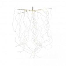LED гірлянда Luca звисаючі струни 1,5 м з мерехтінням (біле тепле світло)
