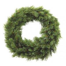 Вінок декоративний різдвяний Forest frosted TriumphTree 60 cм зелений