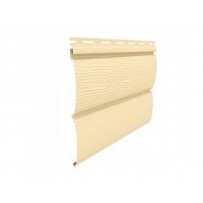 Вініловий сайдинг U-Plast Блок-хаус - Кремовий