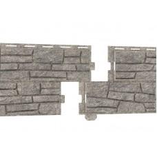 Фасадні панелі U-Plast Стоун Хаус Сланець світло-сірий