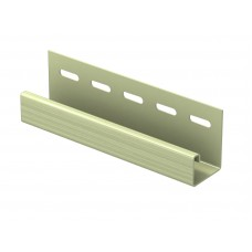 Планка J-trim для сайдингу U-Plast Classic зелена