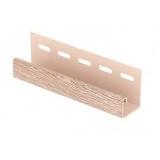 Планка J-trim для сайдингу U-Plast Hokla Модрина світла