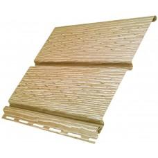 Софіт U-Plast Timberblock панель з повною перфорацією (Дуб Золотий)