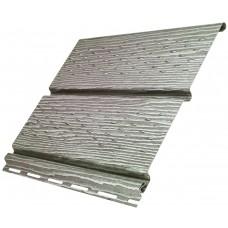 Софіт U-Plast Timberblock панель з повною перфорацією (Дуб Сріблястий)