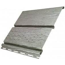 Софіт U-Plast Timberblock панель з частковою перфорації (Дуб Сріблястий)