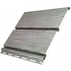 Софіт U-Plast Timberblock панель без перфорації (Дуб Сріблястий)