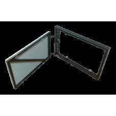 Зміцнений люк-невидимка під плитку UkrLuki Strong 750х500 розпашний на присосці