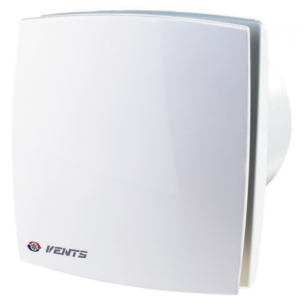 Витяжний вентилятор Vents 125 ЛДВТН з датчиком вологості, таймером і вимикачем